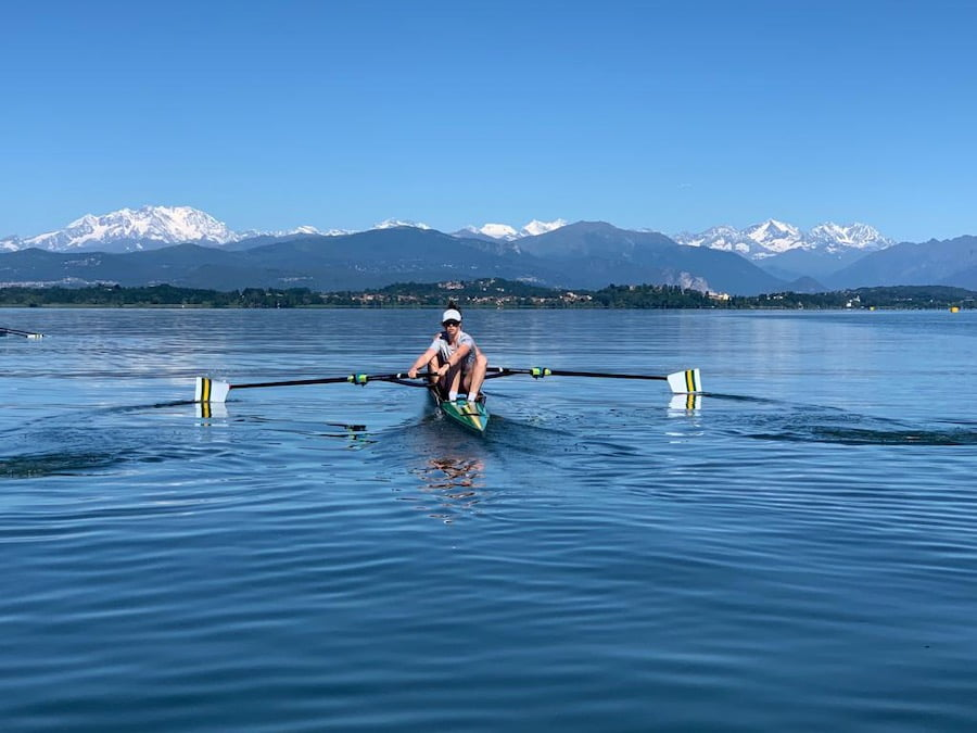 Annabelle McIntyre: Rowing and Riding in Lockdown 1