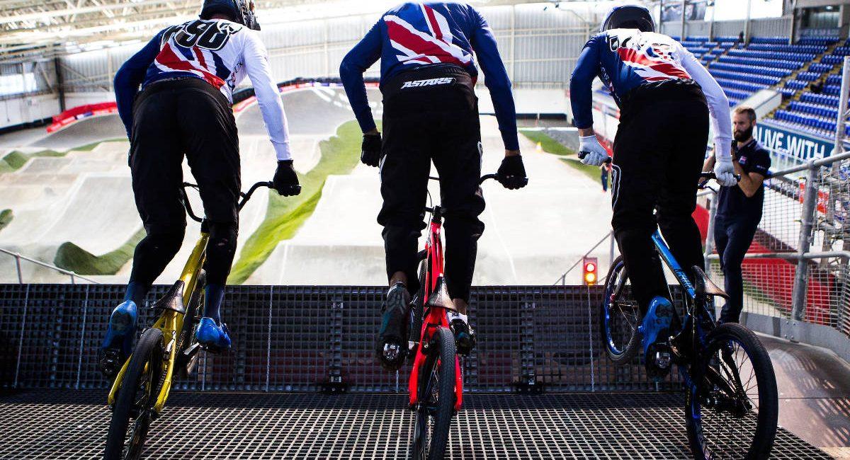 Great Britain Cycling Team BMX Training