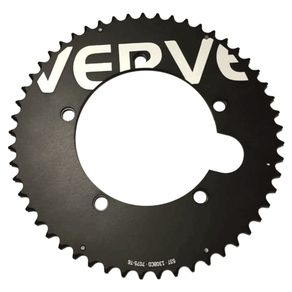 Verve 53-56T Aero Single Outer Ring for 130BCD 2